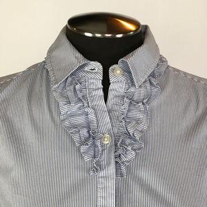 Banana Republic Tops - Banana Republic Button down blouse ruffle details